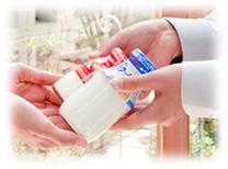 【イメージ】ウエノ乳販は「健康」と「笑顔」をお届けします。